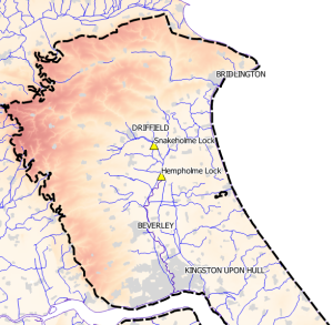 Yorkshire aquifer location